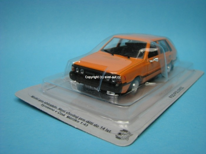 FSO Polonez orange 1:43 DeAgostini